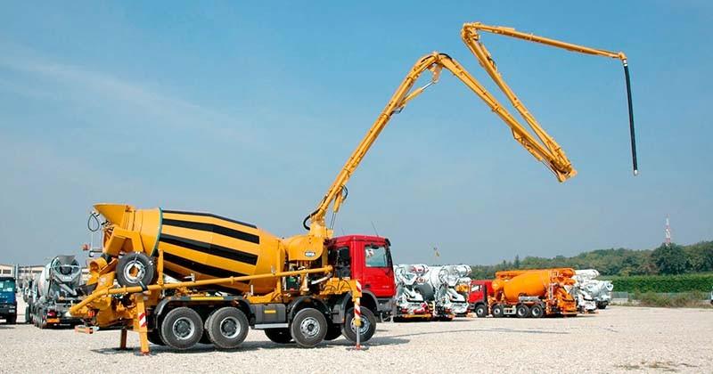 заправка дизельным топливом бетононасосов